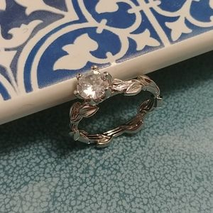 large solitaire ring